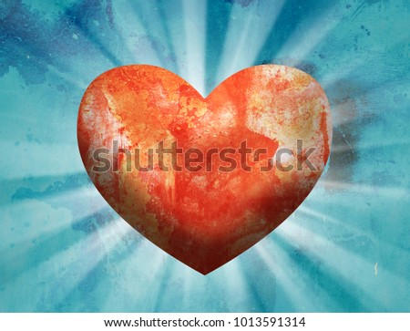 Love Heart Background #1013591314