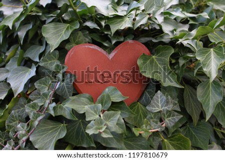 love heart in the ivy #1197810679
