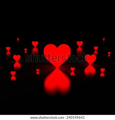 love heart light