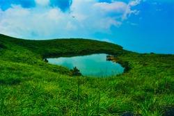 love lake at Chembra peak, Wayanad, Kerala
