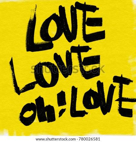 Love love love handwriting