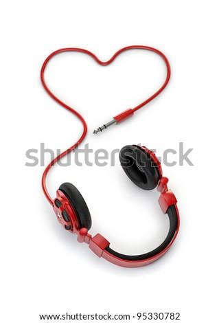 Stock Photo Love of music