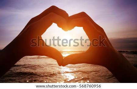 love on the beach  #568760956
