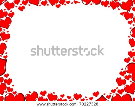 Love Heart Border