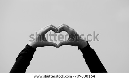 Love shape background / Love is a variety of different emotional and mental states #709808164
