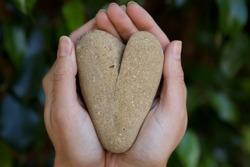 Love Shaped Rock