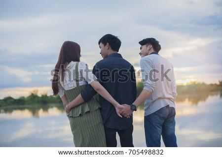 Love triangle #705498832