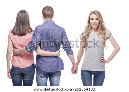 Dating another girl while in a relationship