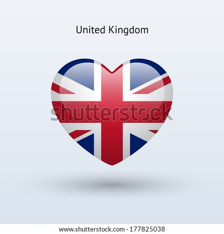 love united kingdom symbol