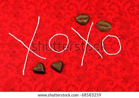 Love with Valentine Candy studio work