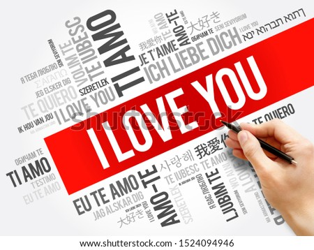 """love words """"I love you"""" in different languages of the world #1524094946"""