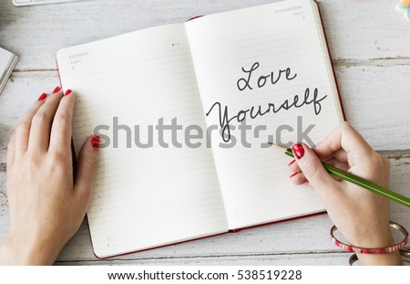 Photo of Love Yourself Be You Self Esteem Confidence Encourage Concept