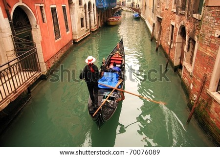 Lovely canals in Venice.