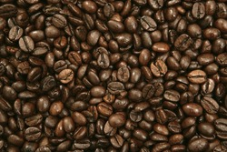 Lovely Fresh Coffee Beans Background