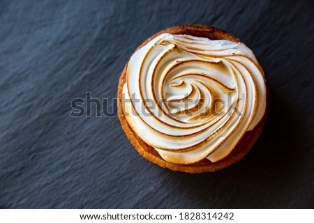 Lovely Lemon Meringue Pie Pastry ストックフォト ©