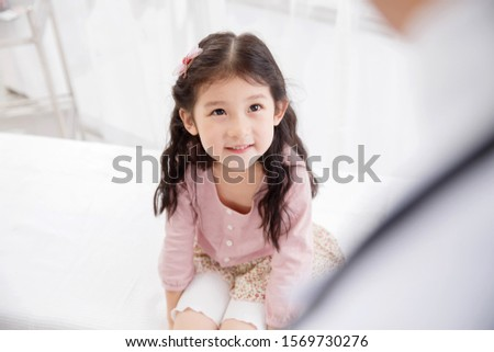 Lovely little girl - one person