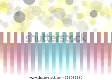 Lovely mixed graphic colors lines with lens flares bokeh for abstract background