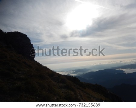 Lovely romanian mountains #732155689
