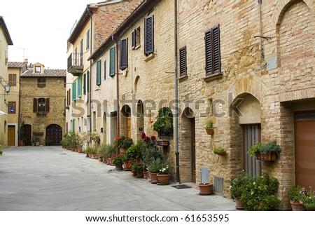 lovely tuscan street