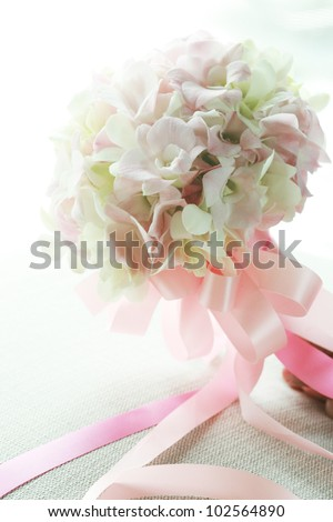 Lovely wedding bridal bouquet