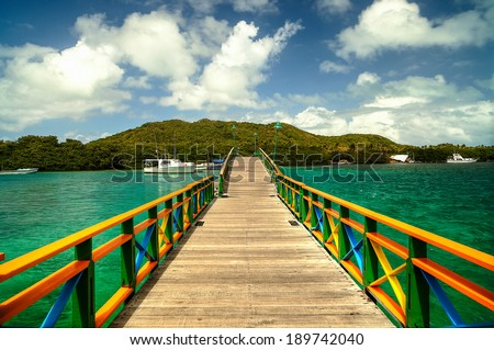 Lovers Bridge Providence Island Colombia
