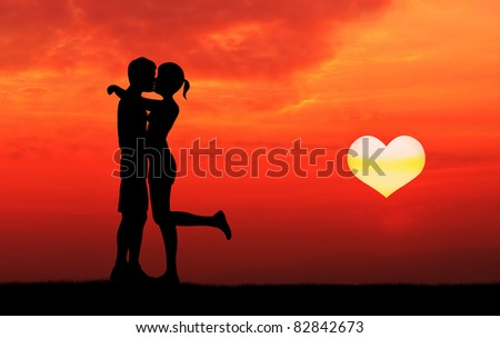 Lovers Kisses Images Lovers Kissing With Rising