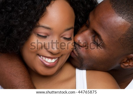 stock photo : Loving Black Couple