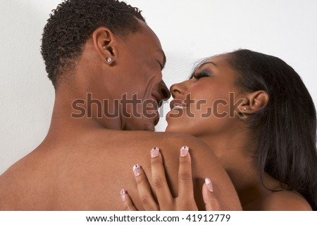 stock photo loving ethnic black african american young affectionate nude heterosexual couple in affectionate 41912779 Naughty Amateur Home Videos Evie Evie gets fucked.