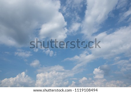 Low Angle View Of Clouds In Sky #1119108494
