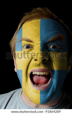 Sweden - national flag and outline maps