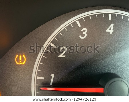 Low tire pressure alarm