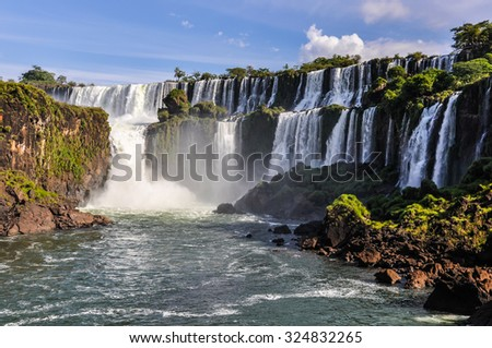 Shutterstock Lowe part at Iguazu Falls, one of the New Seven Wonders of Nature, Argentina