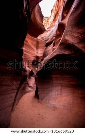 Lower Antelope Canyons in Page, Arizona