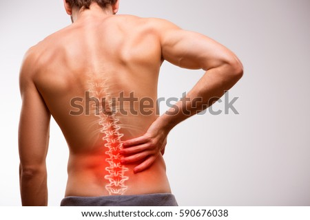 Lower back pain #590676038