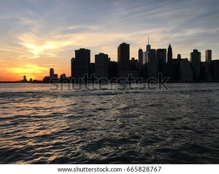 Lower Manhattan #665828767