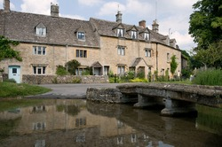 lower slaughter,cotswolds,england