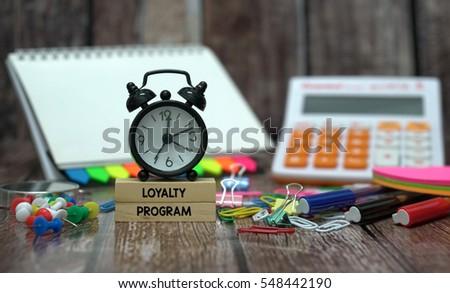 LOYALTY PROGRAM #548442190
