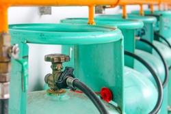 LPG( Liquid Petroleum Gas) gas tank