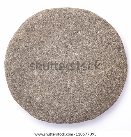 Lsolated Pebble Stone (clipped path)