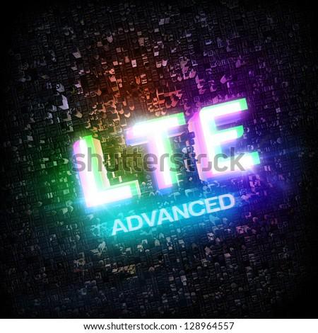 LTE ADVANCED highspeed concept