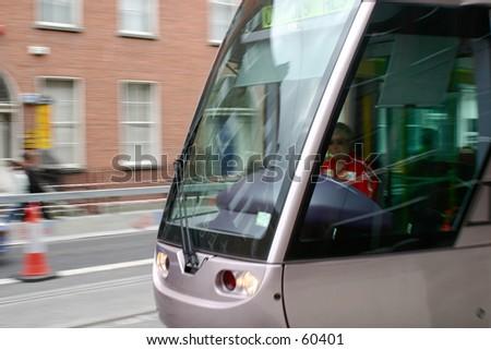 Luas, dublins new tram system #60401