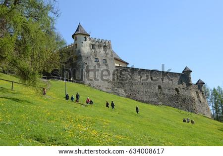 Lubovna hrad, Slovakia  #634008617