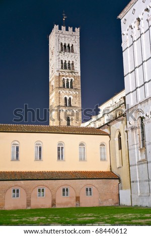 Lucca - view of St Martin's Cathedral