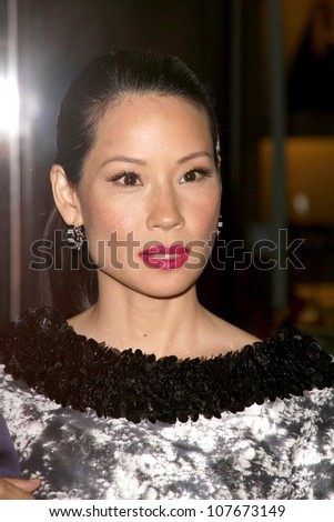 Lucy Liu  at the Rodeo Drive Walk of Style Award Gala. Rodeo Drive, Beverly Hills, CA. 09-25-08