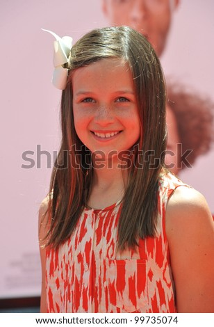 """Lucy Thomas at the world premiere of her new movie """"The Three Stooges"""" at Grauman's Chinese Theatre, Hollywood. April 7, 2012  Los Angeles, CA Picture: Paul Smith / Featureflash"""