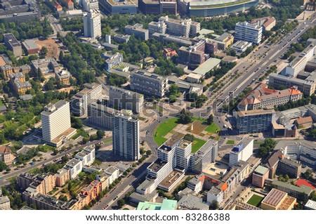 Luftbild, Berlin, Ernst Reuter Platz
