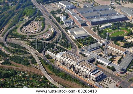 Luftbild, Berlin, Kongresszentrum, ICC