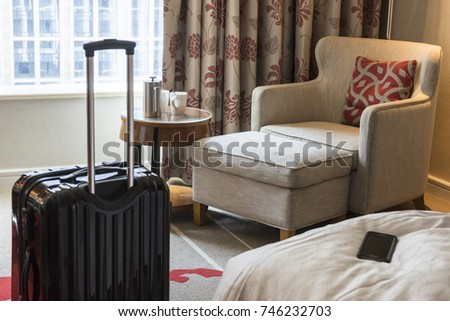 Luggage in the hotel room #746232703