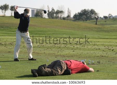 luke donald golf. stock photo : Luke Donald