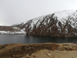 Lulusar Lake also spelled as Lulusir is a beautiful lake at 3,410 m (11,190 ft) is the primary headwaters of the Kunhar River. It flows southwest through the entire length of Kaghan Valley .